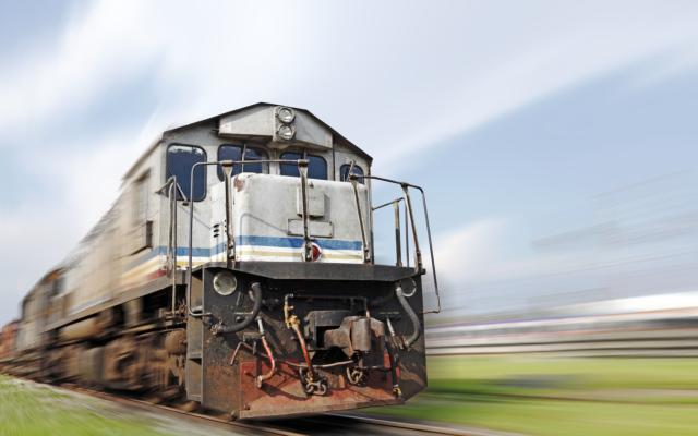 Bitcoin train